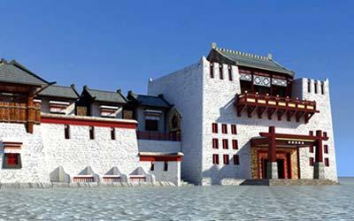 藏文化街【219国道零公里】步行街+沿街改造