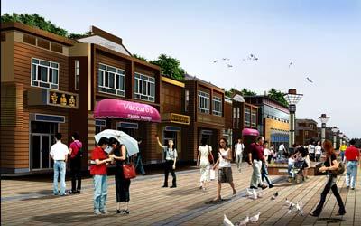 博湖县城市形象改造设计