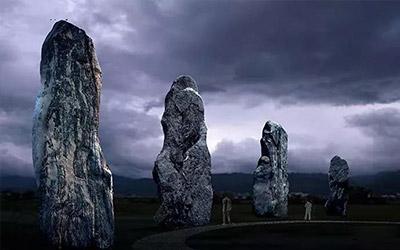 【昆仑广场篇】创世神话石:自然灵性与想象的